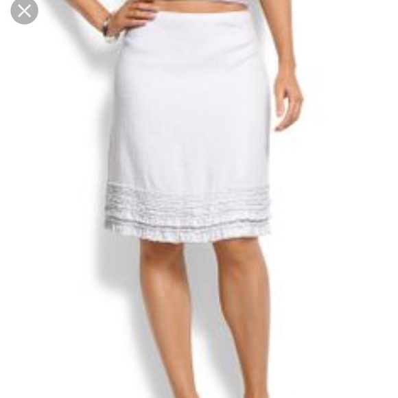 Tommy Bahama Dresses & Skirts - NAVY LINEN TOMMY BAHAMA SKIRT